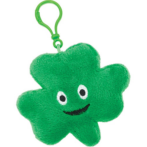 Clip-On Shamrock Plush Image #1