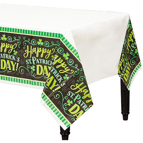 Clover Me Lucky Table Covers 3ct Image #1