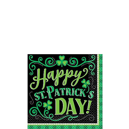 Clover Me Lucky Beverage Napkins 125ct Image #1