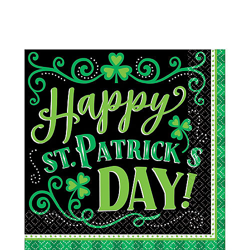Clover Me Lucky Lunch Napkins 125ct Image #1