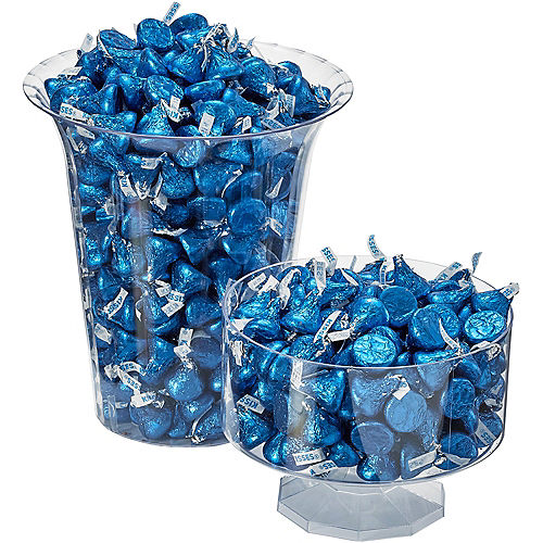 Royal Blue Milk Chocolate Hershey's Kisses 410ct Image #3