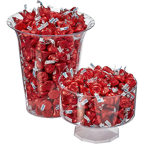 Nav Item for Red Milk Chocolate Hershey's Kisses 410ct Image #3