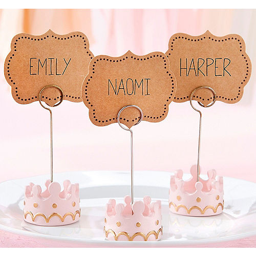 Little Princess Place Card Holders 12ct Image #1