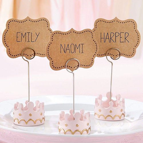 Little Princess Place Card Holders 12ct Image #2