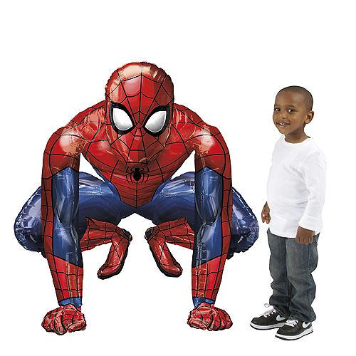 Giant Gliding Spider-Man Webbed Wonder Balloon Image #1
