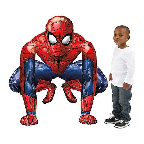 Giant Gliding Spider-Man Webbed Wonder Balloon Image #2