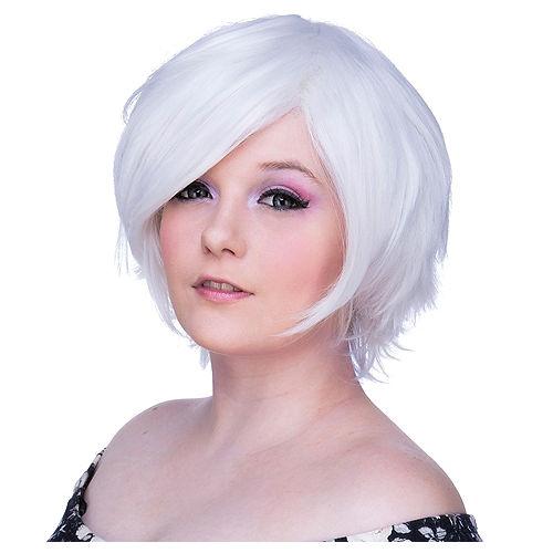 Short White Wig Image #1