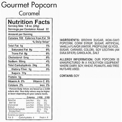 Caramel Gourmet Popcorn Image #4