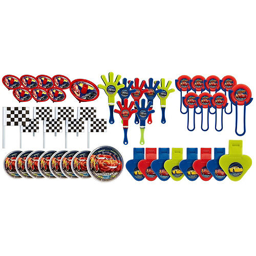 Lightning McQueen Pinata Kit with Favors - Cars 3 Image #4
