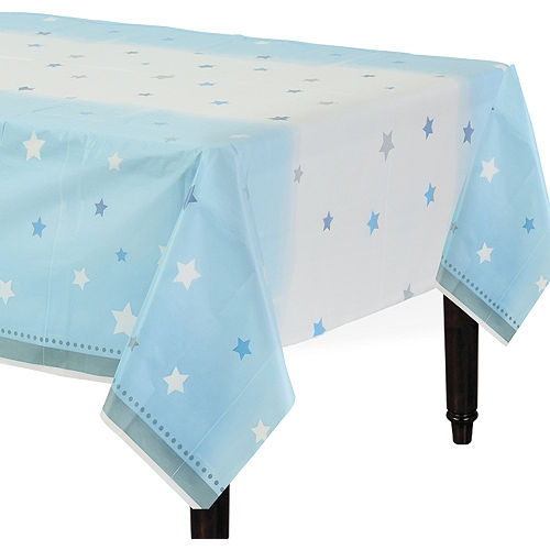 Blue Twinkle Twinkle Little Star Table Cover Image #1