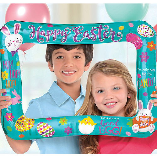 Inflatable Easter Photo Frame Balloon Image #1