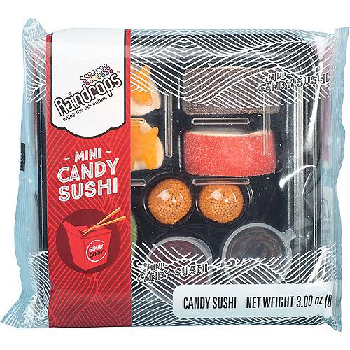 Mini Sushi Gummy Candy 9pc Image #1