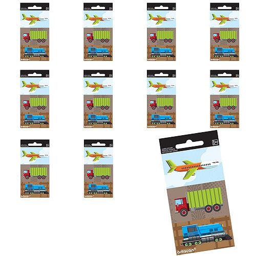 Jumbo Trucks, Planes & Trains Stickers 24ct Image #1