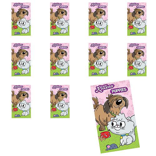 Jumbo Kittens & Puppies Stickers 24ct Image #1