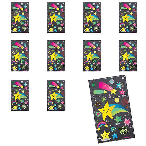 Jumbo Stars Stickers 24ct Image #1