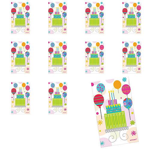 Jumbo Party Stickers 24ct Image #1