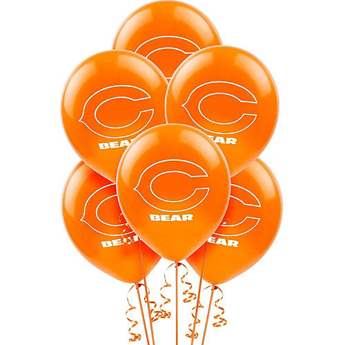 Super Chicago Bears Party Kit for 36 Guests Image #7