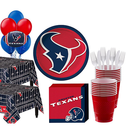 Super Houston Texans Party Kit for 36 Guests Image #1