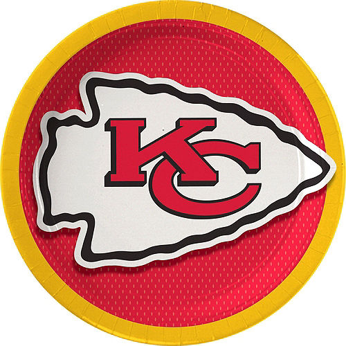 Super Kansas City Chiefs Party Kit for 36 Guests Image #2