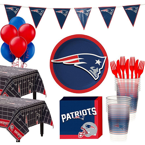 Super New England Patriots Party Kit for 36 Guests Image #1