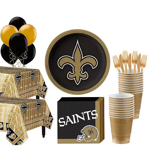 Super NFL New Orleans Saints Party Kit for 36 Guests Image #1