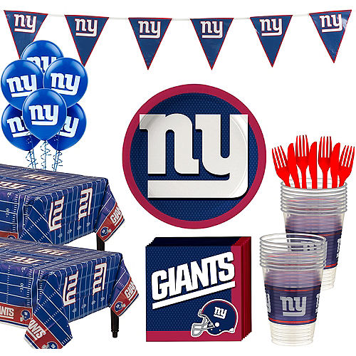 Super New York Giants Party Kit for 36 Guests Image #1