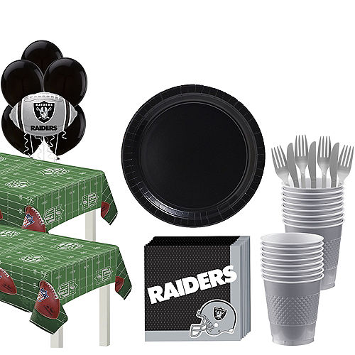 Super Las Vegas Raiders Party Kit for 36 Guests Image #1