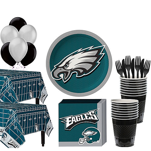 Super Philadelphia Eagles Party Kit for 36 Guests Image #1
