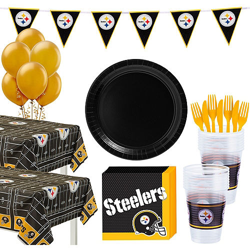 Super Pittsburgh Steelers Party Kit for 36 Guests Image #1