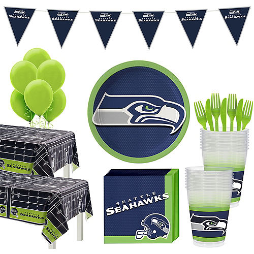 Super Seattle Seahawks Party Kit for 36 Guests Image #1