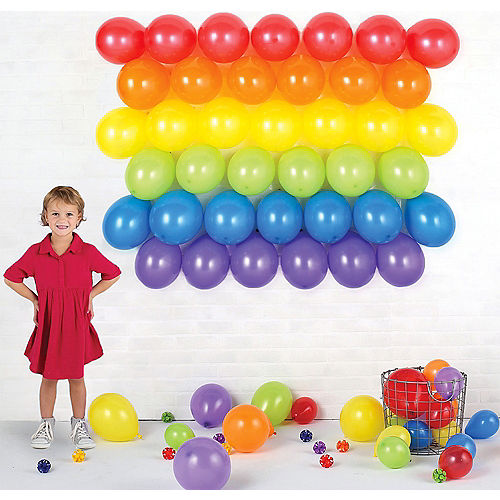 Balloon Backdrop Kit 47pc Image #1