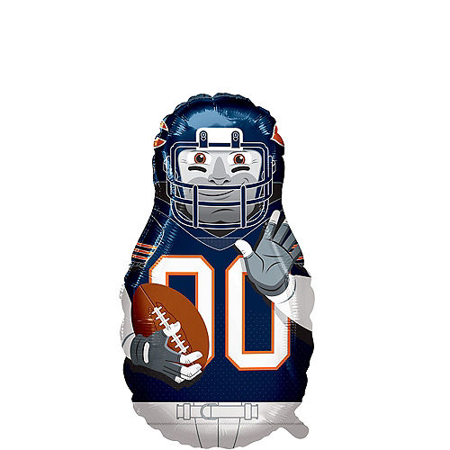 Giant Football Player Chicago Bears Balloon Image #1