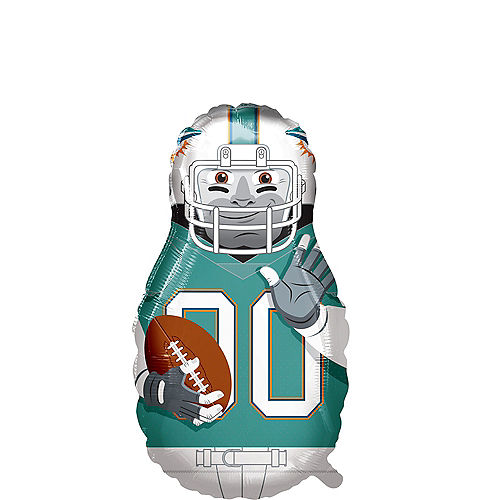 Giant Football Player Miami Dolphins Balloon Image #1