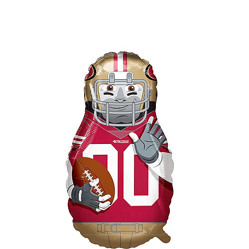 Giant Football Player San Francisco 49ers Balloon Image #1