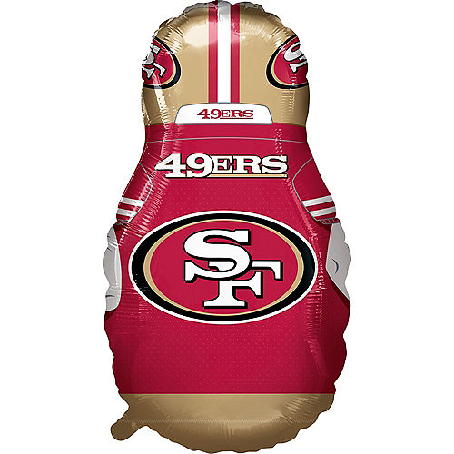 Giant Football Player San Francisco 49ers Balloon Image #2