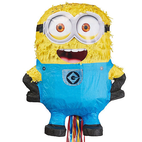 Pull String Phil Minion Pinata - Despicable Me 2 Image #1