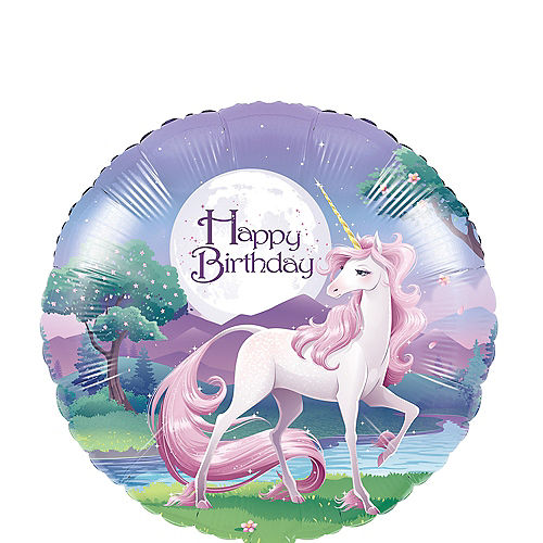 Unicorn Balloon, 18in Image #1