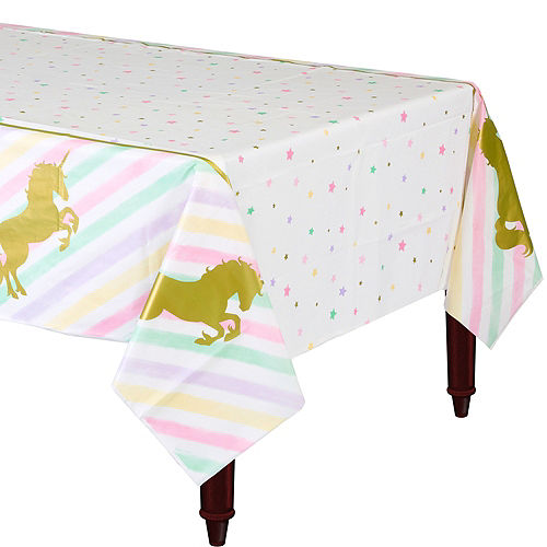 Sparkling Unicorn Table Cover Image #1