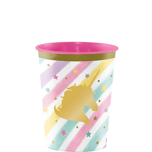 Sparkling Unicorn Favor Cup Image #1