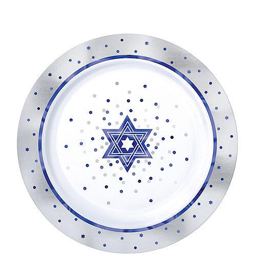 Happy Passover Premium Plastic Dessert Plates 20ct Image #1