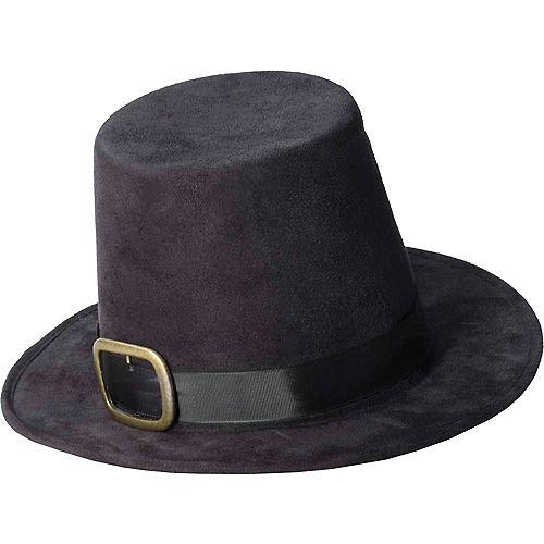 Gold Buckle Pilgrim Hat Image #1