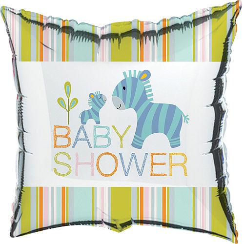 Happy Jungle Boy Baby Shower Balloon Kit Image #3