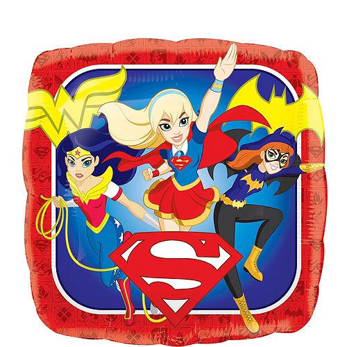 DC Super Hero Girls 7th Birthday Balloon Bouquet 5pc Image #4