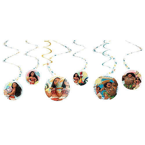 Nav Item for Moana Swirl Decorations 6ct Image #1