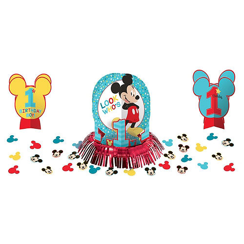 1st Birthday Mickey Mouse Party Kit for 32 Guests Image #8