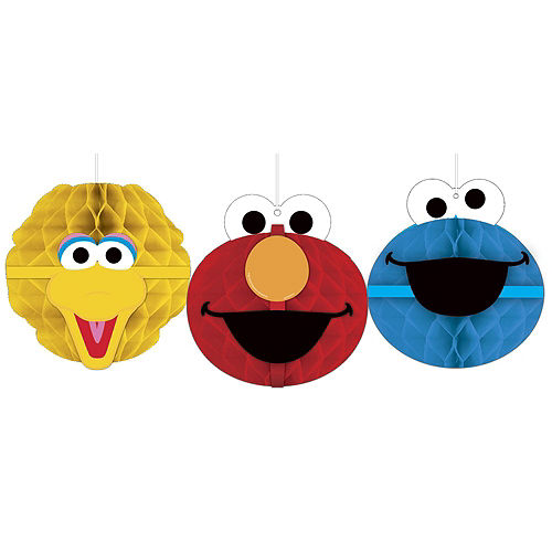 1st Birthday Elmo Deluxe Party Kit for 32 Guests Image #9