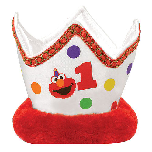 1st Birthday Elmo Deluxe Party Kit for 32 Guests Image #14