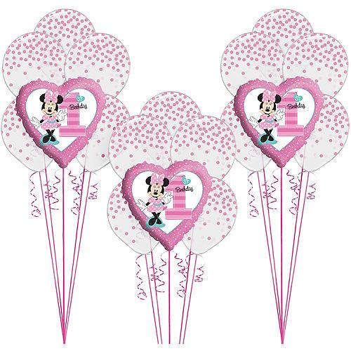 1st Birthday Minnie Mouse Balloon Kit Image #1