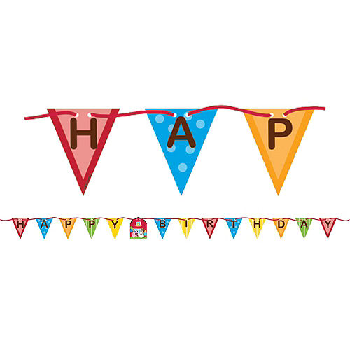 Farmhouse Fun 1st Birthday Party Kit for 16 Guests Image #10