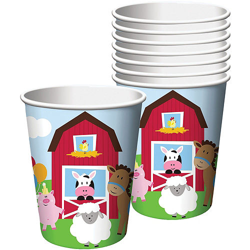 Farmhouse Fun 1st Birthday Deluxe Party Kit for 32 Guests Image #6